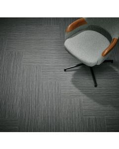 Forbo Flotex Planks Seagrass Charcoal 111004