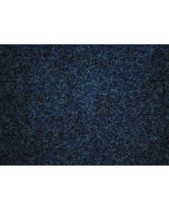 Heckmondwike Wellington Velour Carpet Lincoln Petrol Blue