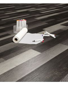 Polyflor Expona Commercial Dark Recycled Wood 4067
