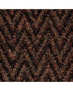 Burmatex Chevrolay 50 Heavy Contract Entrance Carpet Tiles 6239 Theta Brown