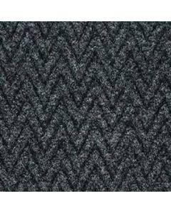 Burmatex Chevrolay 50 Heavy Contract Entrance Carpet Tiles 6240 Alpha Grey