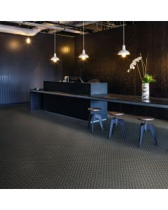 Polyflor Expona Design Black Treadplate 8122