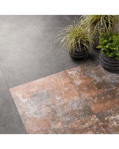 Polyflor Expona Design Rusted Stencil Concrete 9141