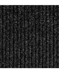 Entrance Rib Matting Black 2m width - Per 10cm