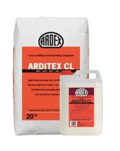 Ardex Arditex CL Latex Levelling Latex Bag & Bottle