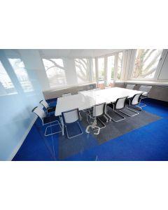 Heckmondwike Array Carpet Tile Broadrib Blue 50 X 50 cm