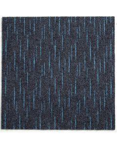 Heckmondwike Array Carpet Tile Array Peacock 50 X 50 cm
