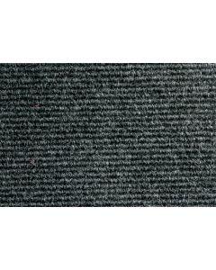 Heckmondwike Broadrib Carpet Tile Anthracite 50 X 50 cm