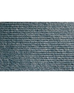 Heckmondwike Broadrib Carpet Tile Astra Blue 50 X 50 cm