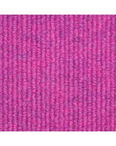 Heckmondwike Broadrib Carpet Tile Cerise 50 X 50 cm