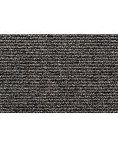 Heckmondwike Broadrib Carpet Tile Flint 50 X 50 cm