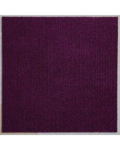 Heckmondwike Array Carpet Tile Broadrib Fuchsia 50 X 50 cm