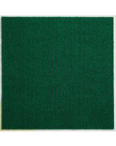 Heckmondwike Array Carpet Tile Broadrib Green 50 X 50 cm