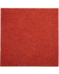 Heckmondwike Array Carpet Tile Broadrib Orange 50 X 50 cm