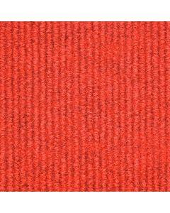 Heckmondwike Broadrib Carpet Tile Red 50 X 50 cm