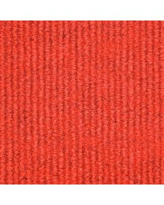 Heckmondwike Array Carpet Tile Broadrib Red 50 X 50 cm