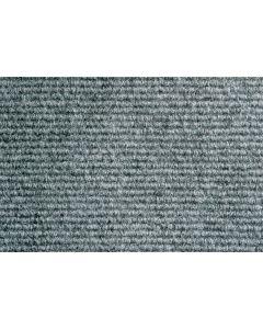Heckmondwike Broadrib Carpet Tile Steel 50 X 50 cm