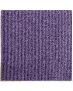 Heckmondwike Array Carpet Tile Broadrib Violet 50 X 50 cm