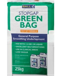 F Ball Stopgap Green Bag Fast Set Smoothing Compound