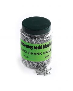 Ring Shank Nails 20mm 1kg Tub Cat No 10095