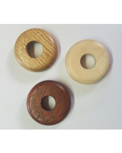 Wooden Pipe Covers (Pair)