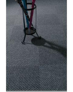 Heckmondwike Dreadnought Entrance Carpet Tile Anthracite 50 X 50 cm