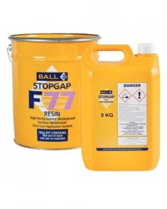 F Ball Styccobond F77 Waterproof Surface Membrane 3kg