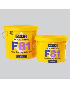 F Ball Styccobond F81 Epoxy Flooring Adhesive 5KG