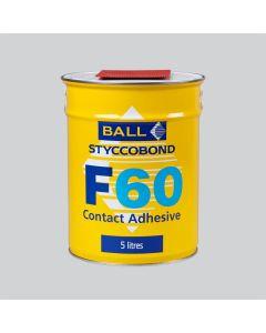 F Ball Styccobond F60 5ltr Contact Adhesive