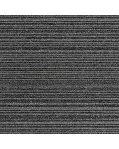 Burmatex Go To Heavy Contract Carpet Tiles Coal Grey Stripe 21902