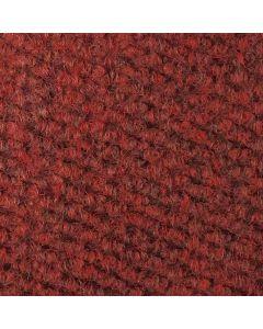 Heckmondwike Hobnail Carpet Tile Red 50 X 50 cm