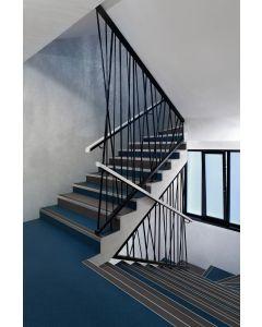 Heckmondwike Hobnail Carpet Tile Pacific Blue 50 X 50 cm