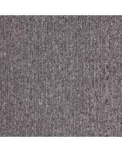 Paragon Macaw Stripe Carpet Tile Quartz-Pewter
