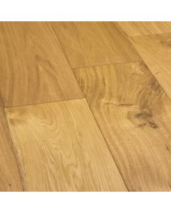 Furlong Flooring Emerald 190 Multilayer Oak Rustic Brushed & UV Oiled 20070