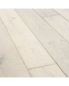 Furlong Flooring Emerald 189mm Ivory White Brushed & UV Oiled 11170