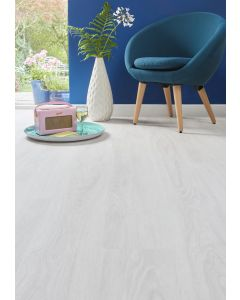 Burrnest Victoria Luxury Vinyl Flooring - Light White