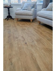 Burrnest Victoria Luxury Vinyl Flooring - Natural Rustic Oak