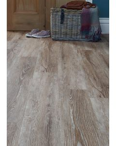 Burrnest Victoria Luxury Vinyl Flooring - Bleached Sawn Wood