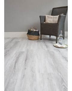 Burrnest Victoria Luxury Vinyl Flooring - Darkened Ice Wood