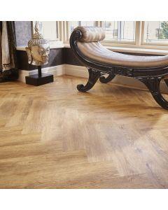 Burrnest Victoria Parquet Luxury Vinyl Flooring Natural Rustic Oak