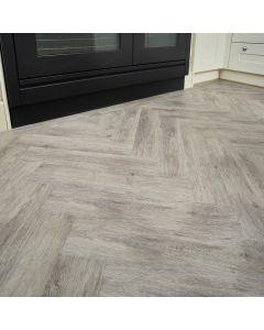 Burrnest Victoria Parquet Luxury Vinyl Flooring - Medium Oak