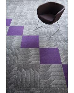 Heckmondwike Odyssey Carpet Tile Anthracite 50 X 50 cm