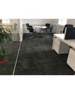 Heckmondwike Odyssey Carpet Tile Graphite 50 X 50 cm