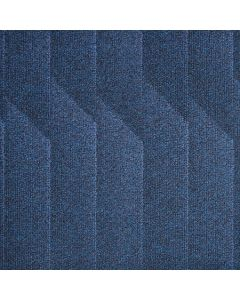 Heckmondwike Odyssey Carpet Tile Indigo 50 X 50 cm