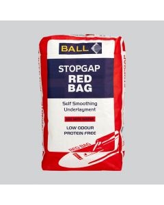 F Ball Stopgap Red Bag Self-Smoothing Underlayment 25KG