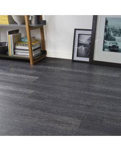 Real Textures Stanford Luxury Vinyl Flooring - Lime Black Ash
