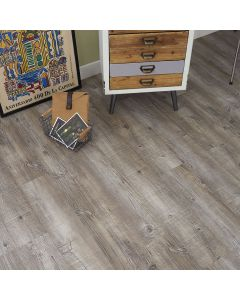 Real Textures Stanford Luxury Vinyl Flooring - Old Sawn Wood
