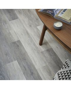 Real Textures Stanford Luxury Vinyl Flooring - Driftwood Grey Oak