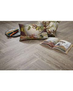 Real Textures Stanford Parquet Luxury Vinyl Flooring - Smoky Grey
