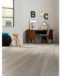 Real Textures Stanford Luxury Vinyl Flooring - Smoky Grey